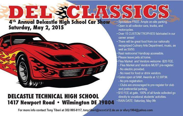 Th Annual Delcastle High School Car Show First State Mustang And - Wilmington car show